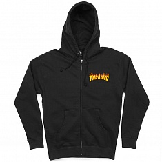 Толстовка FLAME EMBROIDERED ZIP HOOD