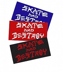 Наклейка SKATE AND DESTROY